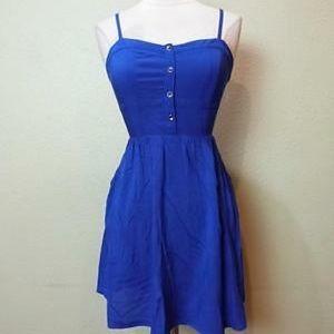 Royal Blue Cami Sundress